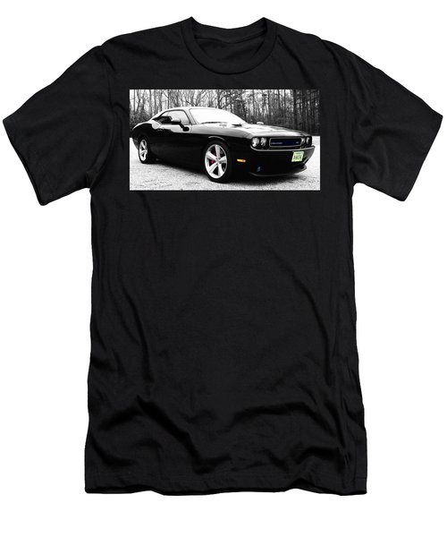 Men's T-Shirt (Slim Fit) featuring the photograph 0-60in4 by Robin Dickinson