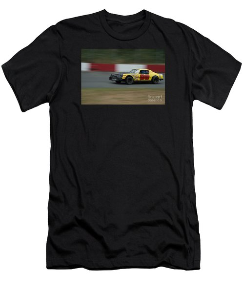 00 Slides Into First Turn Men's T-Shirt (Athletic Fit)