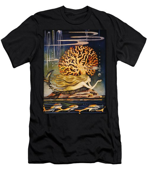 Andersen: Little Mermaid Men's T-Shirt (Athletic Fit)