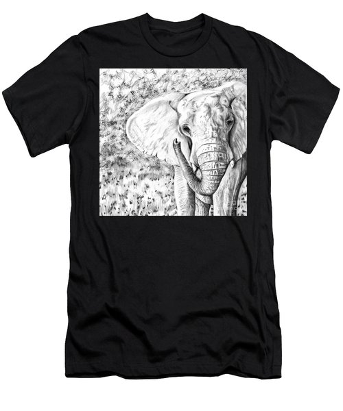 01 Of 30 Elephant Men's T-Shirt (Athletic Fit)