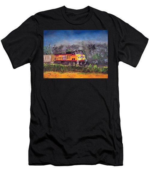 021216 East Bound Men's T-Shirt (Athletic Fit)
