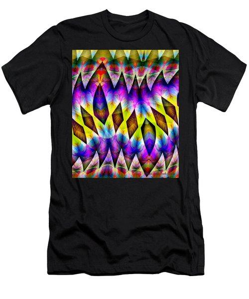 Men's T-Shirt (Athletic Fit) featuring the digital art #030420163 by Visual Artist Frank Bonilla