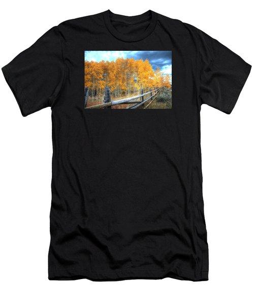 Autumn Fenced Men's T-Shirt (Athletic Fit)