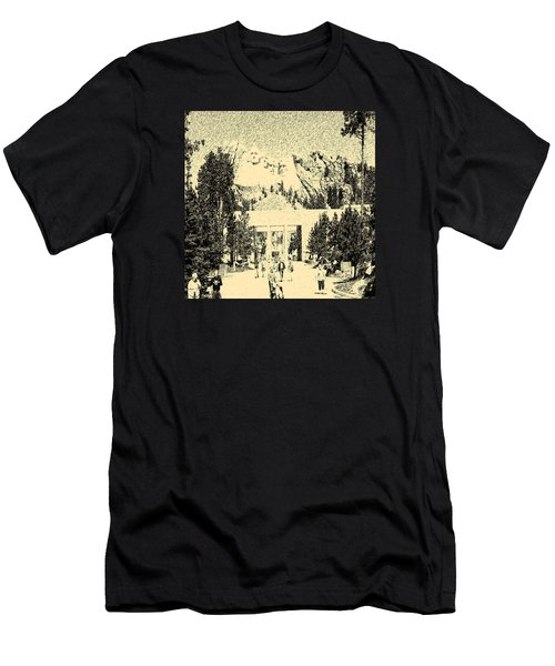 04252015 Mount Rush More Men's T-Shirt (Athletic Fit)