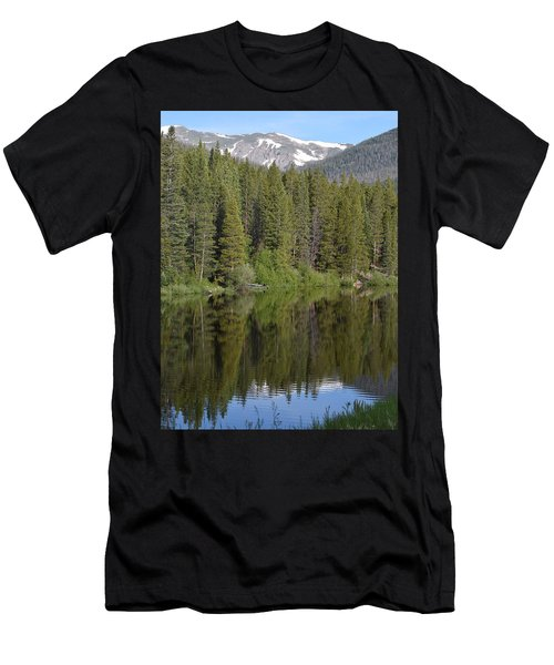 Chambers Lake Hwy 14 Co Men's T-Shirt (Athletic Fit)