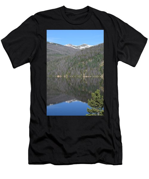 Chambers Lake Reflection Hwy 14 Co Men's T-Shirt (Athletic Fit)