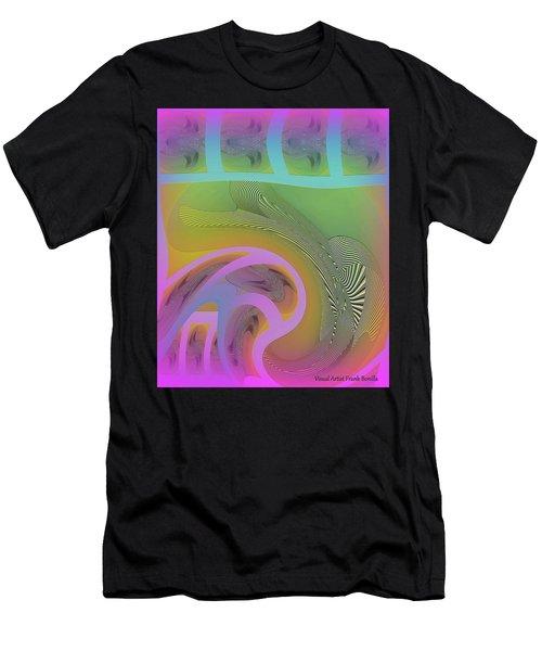 Men's T-Shirt (Athletic Fit) featuring the digital art #061220173 by Visual Artist Frank Bonilla