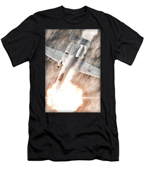 A-10 Thunderbolt II Men's T-Shirt (Slim Fit) by David Collins