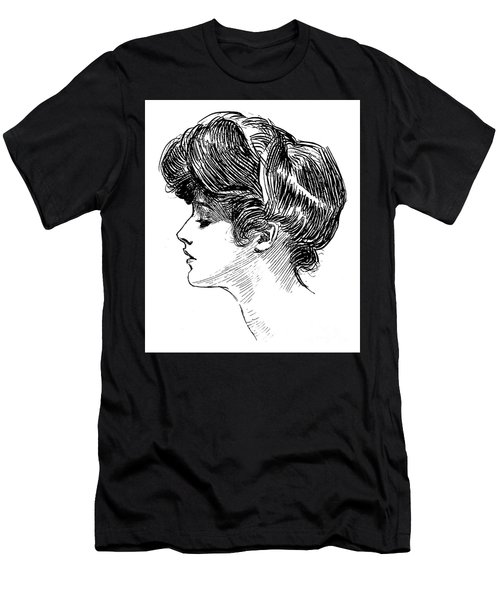 A Gibson Girl Men's T-Shirt (Athletic Fit)