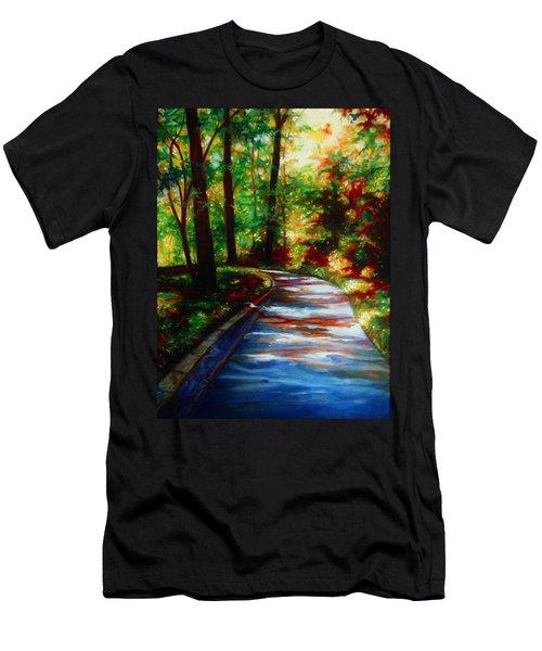 A Morning Walk Men's T-Shirt (Athletic Fit)