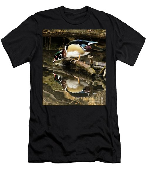 A Sip For You And Me Wildlife Art By Kaylyn Franks Men's T-Shirt (Athletic Fit)
