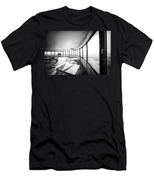 Abandoned Tower Restaurant - Urban Exploration Men's T-Shirt (Athletic Fit)