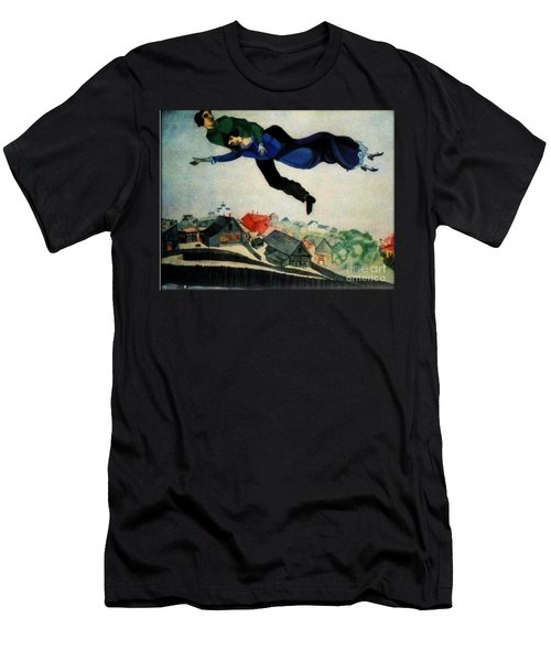 Above The Town Men's T-Shirt (Athletic Fit)