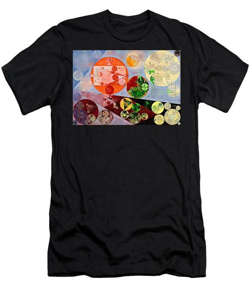 Abstract Painting - Rustic Red Men's T-Shirt (Athletic Fit)