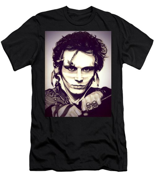 Adam Ant Men's T-Shirt (Slim Fit) by Fred Larucci