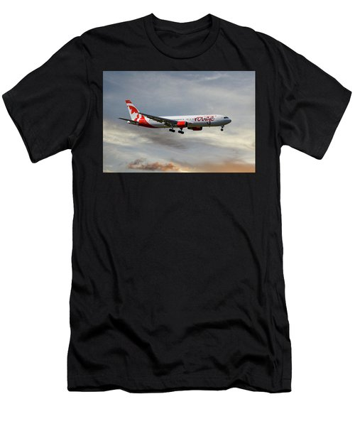 Air Canada Rouge Boeing 767-35h 122 Men's T-Shirt (Athletic Fit)