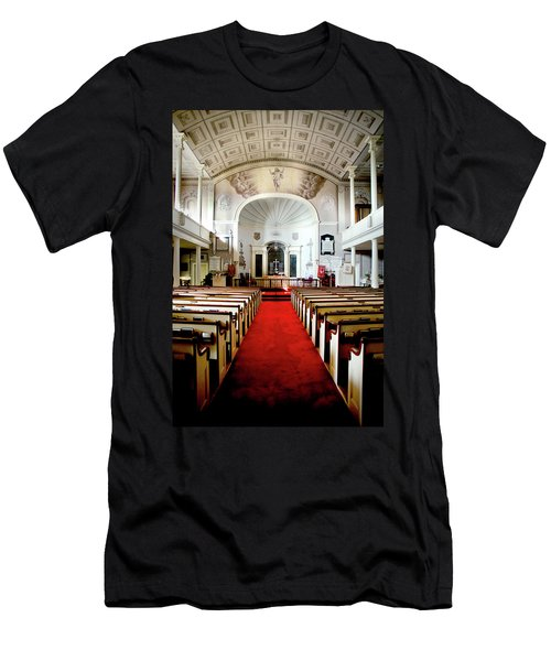 Aisle Of God Men's T-Shirt (Slim Fit) by Greg Fortier