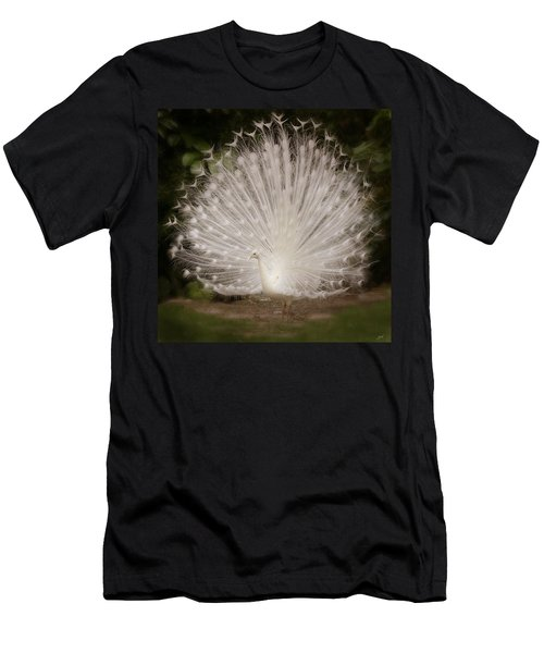 Albino Peacock  Men's T-Shirt (Athletic Fit)