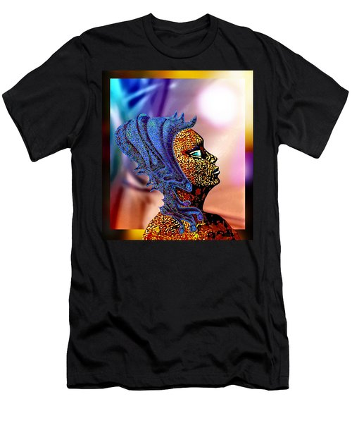 Alien Portrait Men's T-Shirt (Athletic Fit)