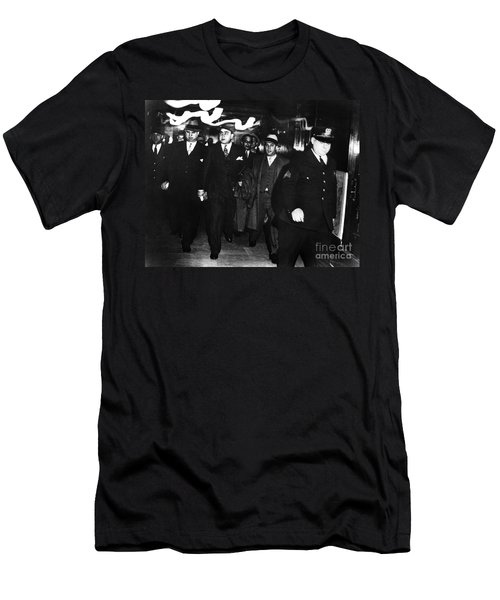 Alphonse Capone (1899-1947) Men's T-Shirt (Athletic Fit)