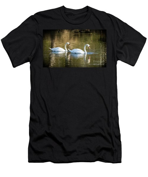 Always Together Wildlife Art By Kaylyn Franks Men's T-Shirt (Athletic Fit)