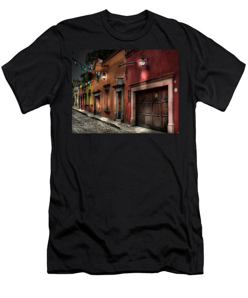 1 A.m. Street Photo Men's T-Shirt (Athletic Fit)