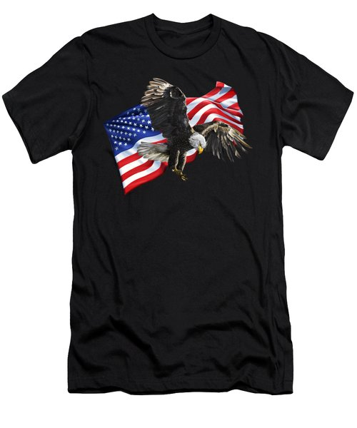 America Men's T-Shirt (Athletic Fit)