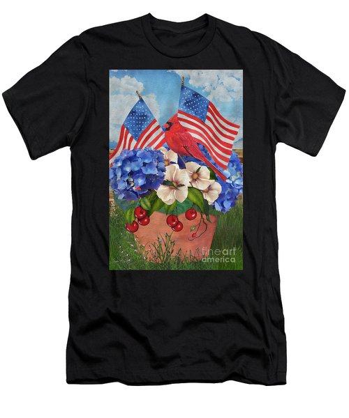 America The Beautiful-jp3210 Men's T-Shirt (Athletic Fit)
