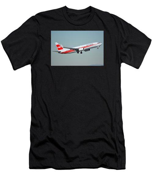 American Boeing 737-823 N915nn Phoenix Sky Harbor January 11 2015 Men's T-Shirt (Athletic Fit)