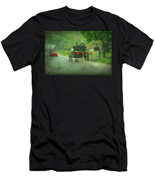 Amish Ladies Of Lancaster County Men's T-Shirt (Athletic Fit)