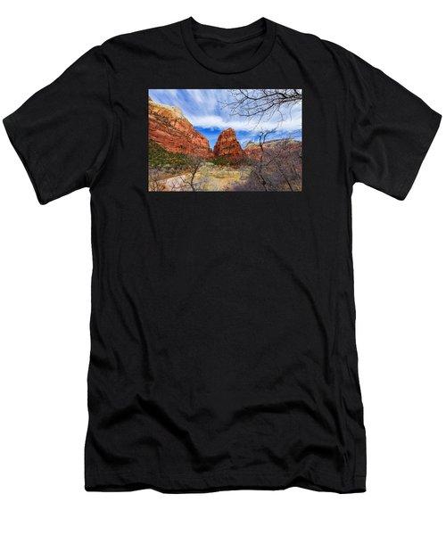 Angels Landing Men's T-Shirt (Athletic Fit)