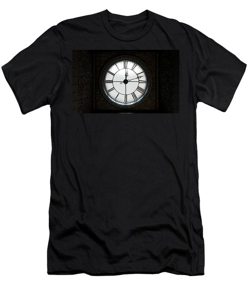Antique Backlit Clock Men's T-Shirt (Athletic Fit)