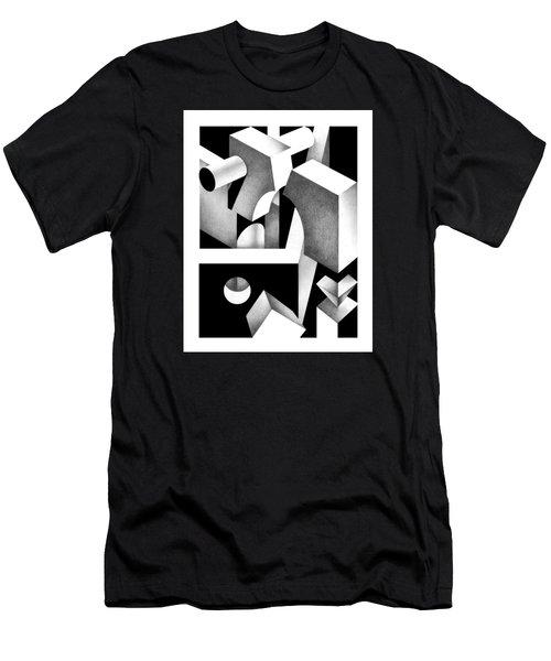 Archtectonic 8 Men's T-Shirt (Athletic Fit)