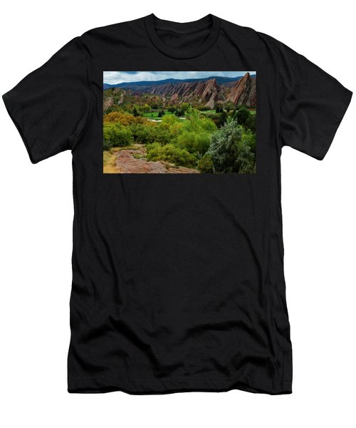 Men's T-Shirt (Slim Fit) featuring the photograph Arrowhead by Kristal Kraft