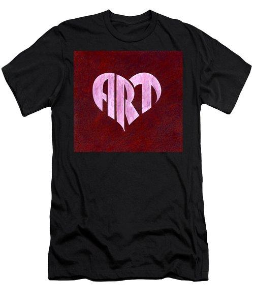 Art Heart Men's T-Shirt (Athletic Fit)