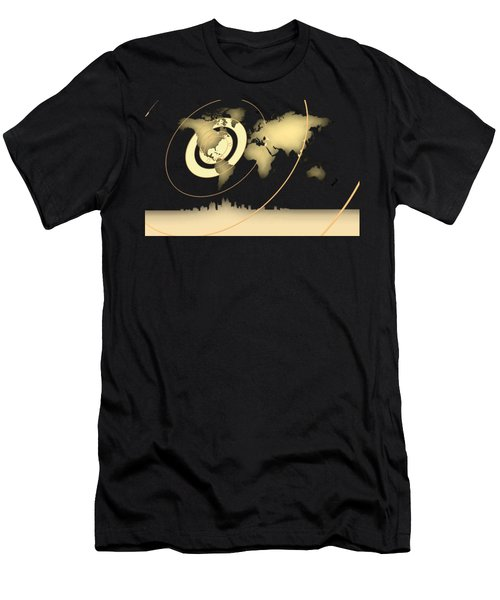 Atlanta In The World Men's T-Shirt (Athletic Fit)