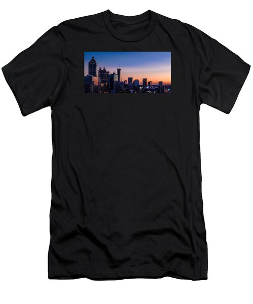 Atlanta Sunset Men's T-Shirt (Athletic Fit)