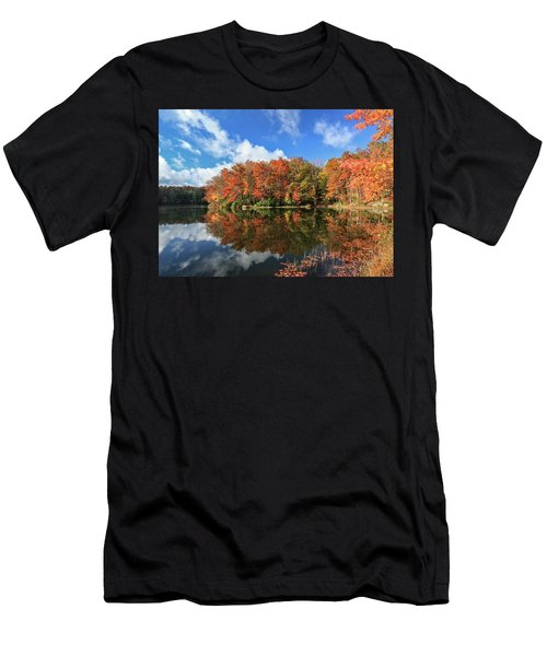Autumn At Boley Lake Men's T-Shirt (Athletic Fit)