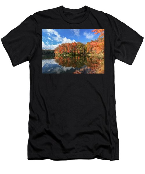 Autumn At Boley Lake Men's T-Shirt (Athletic Fit)