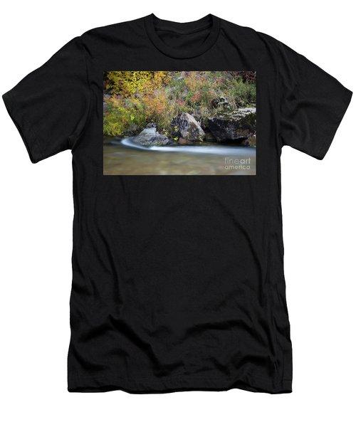 Autumn Flow Men's T-Shirt (Athletic Fit)