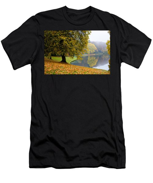 Autumn In The Park Men's T-Shirt (Athletic Fit)