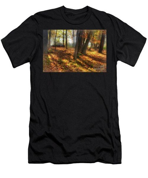 Autumn Shadows In The Blue Ridge Ap Men's T-Shirt (Athletic Fit)