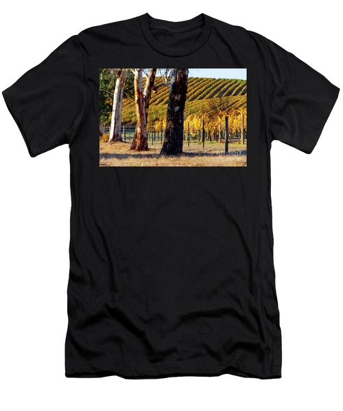 Autumn Vines Men's T-Shirt (Slim Fit)