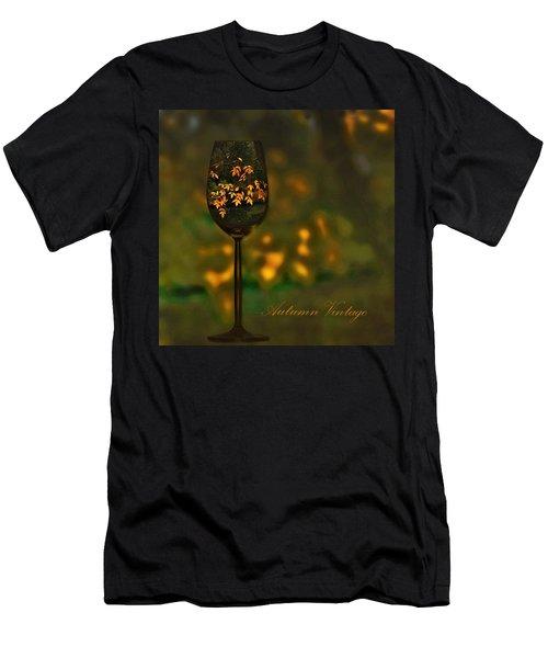 Autumn Vintage Men's T-Shirt (Athletic Fit)