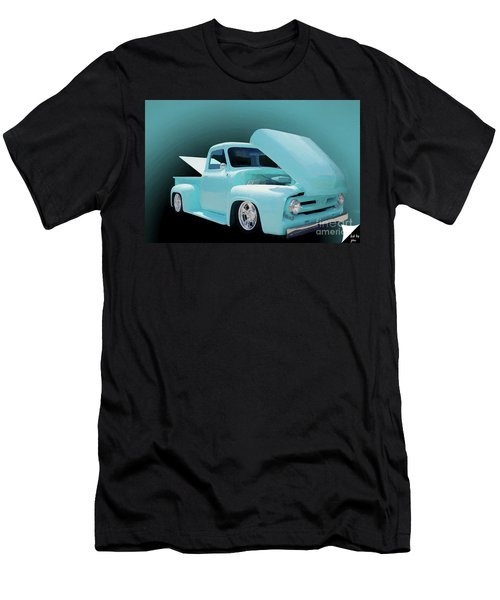 Men's T-Shirt (Slim Fit) featuring the photograph Baby Blue 2 by Jim  Hatch