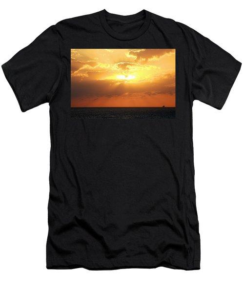 Bahamas Sunset Men's T-Shirt (Athletic Fit)