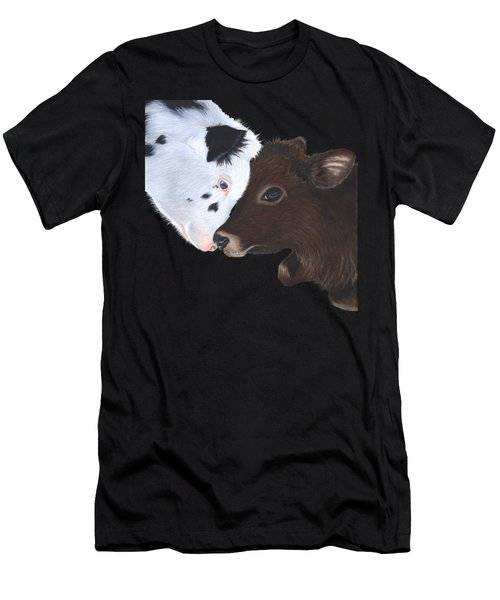 Bali And Kai With Background Removed For Colour Of Choice Men's T-Shirt (Athletic Fit)