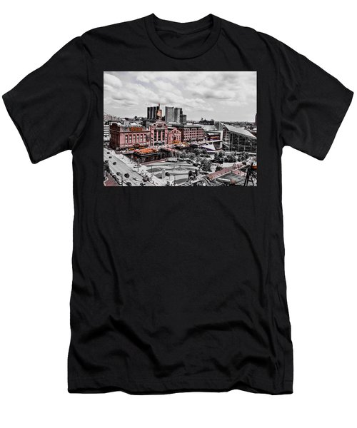 Baltimore Power Plant Men's T-Shirt (Athletic Fit)