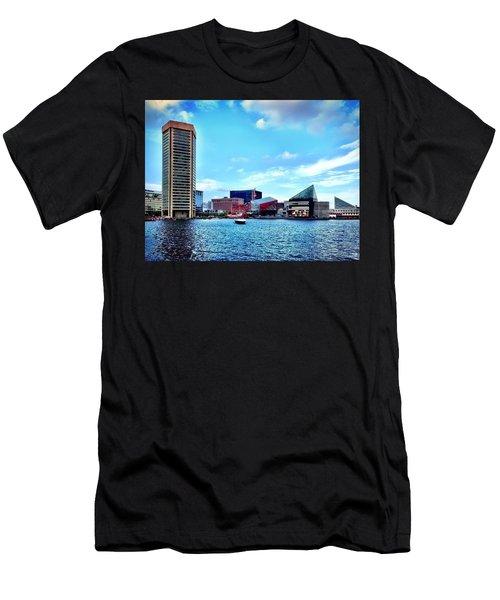Baltimore's Inner Harbor Men's T-Shirt (Athletic Fit)