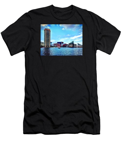 Baltimore's Inner Harbor Men's T-Shirt (Athletic Fit)